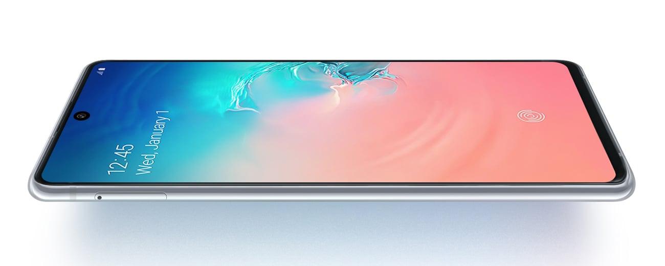 Samsung Galaxy S10 Lite wyświetlacz Super AMOLED plus infinity-O