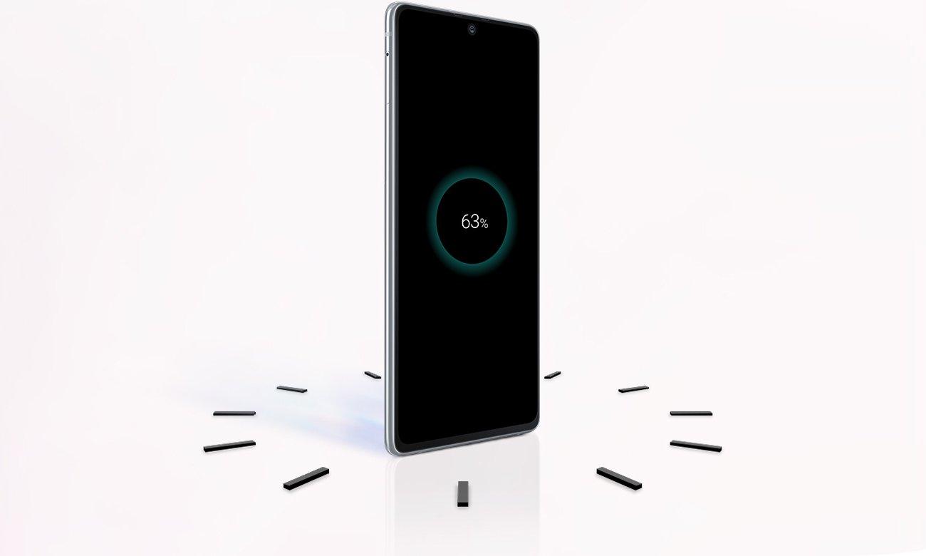 Samsung Galaxy S10 Lite bateria 4500 mAh adaptive fast charging