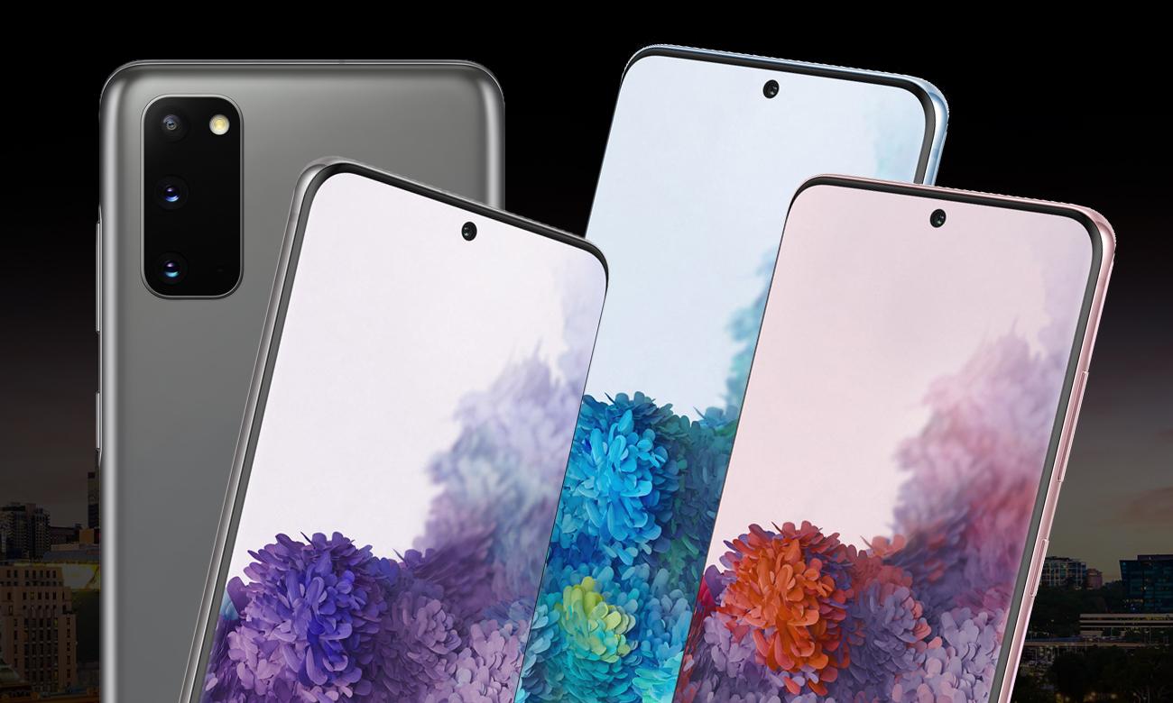 Samsung Galaxy S20 elegancka konstrukcja ze szkła i stali