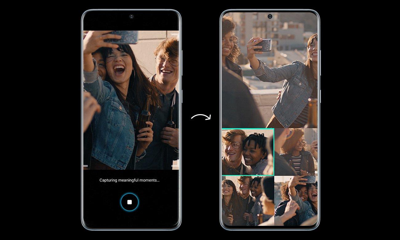 Samsung Galaxy S20 poczwórna kamera 100x zoom 8K