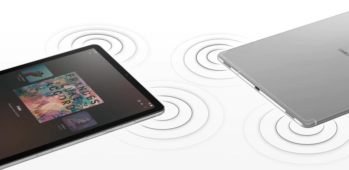 Samsung Galaxy Tab T725 WiFi cztery głośniki dolby atmos