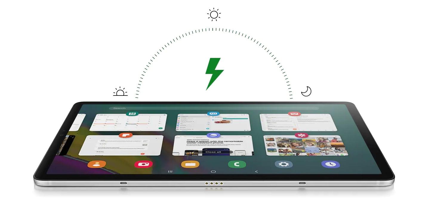 Samsung Galaxy Tab T725 WiFi wydajność i pojemna bateria