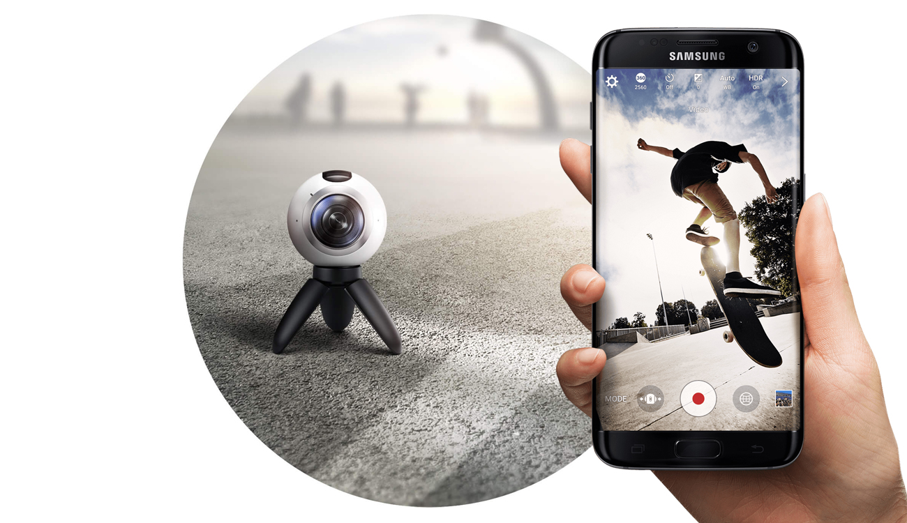 samsung Gear 360 wifi direct bluetooth