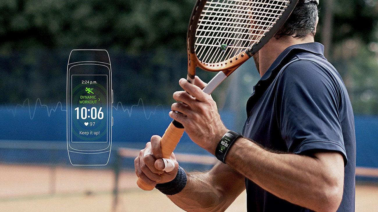 Samsung Gear Fit 2 Pro pulsometr