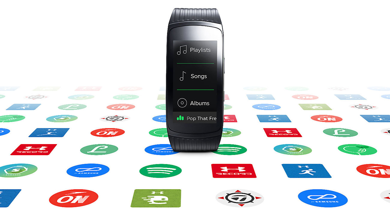 Samsung Gear Fit 2 Pro galaxy app store