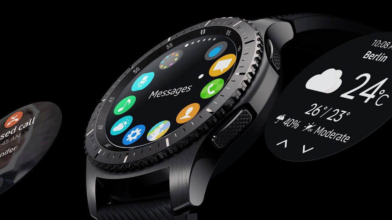 Samsung Gear S3 Frontier multifunkcyjny pierścień