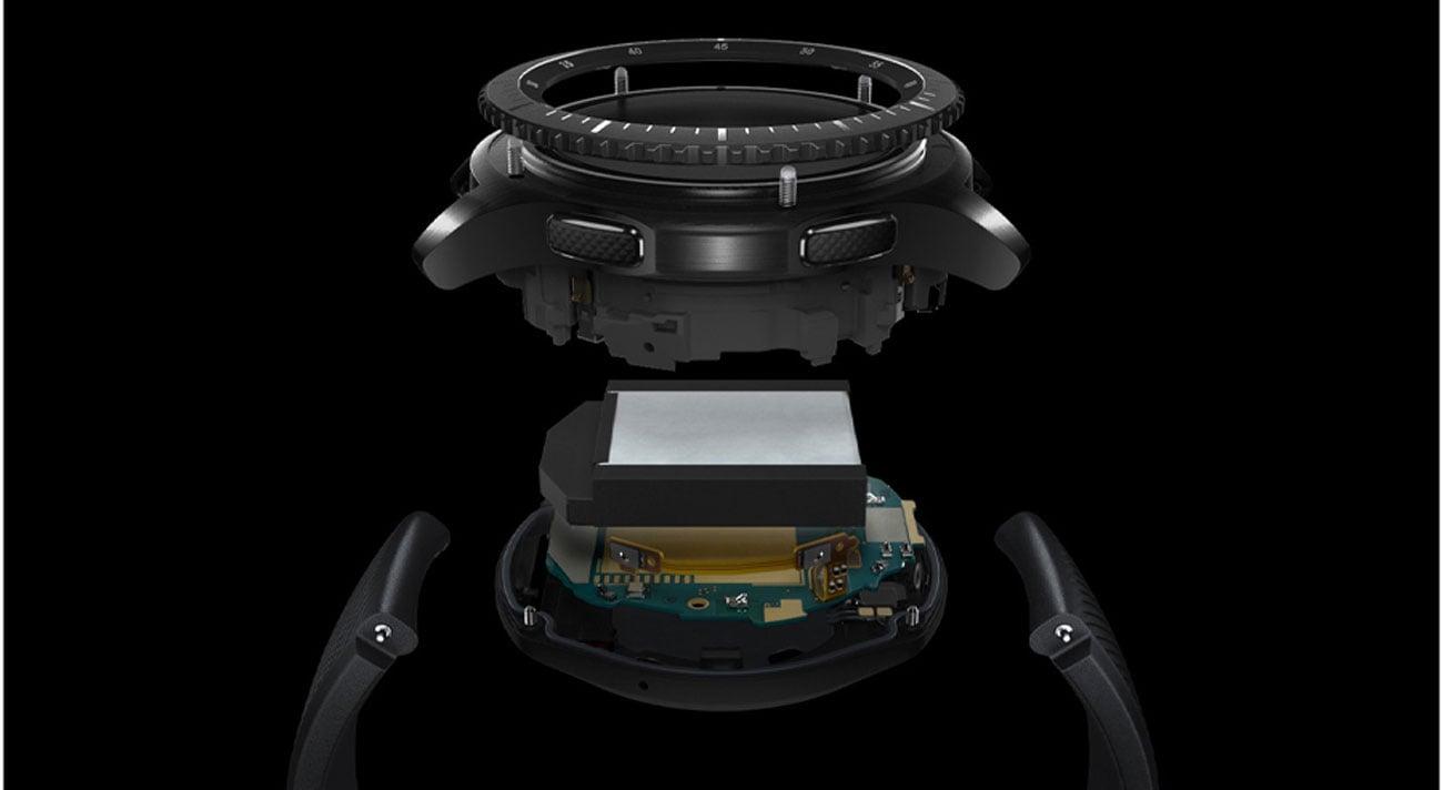 Samsung Gear S3 Frontier szybkie ładowanie bezprzewodowe