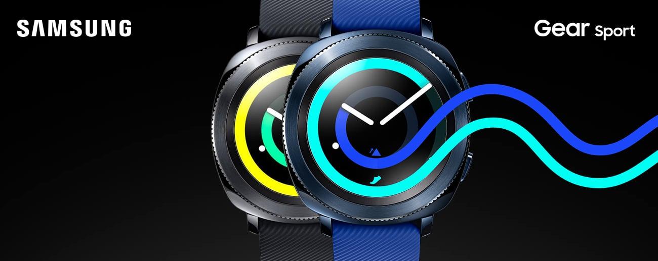 Samsung Gear Sport niebieski