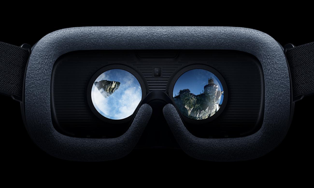 Samsung gear vr2 wyraźny obraz szerokie pole widzenia