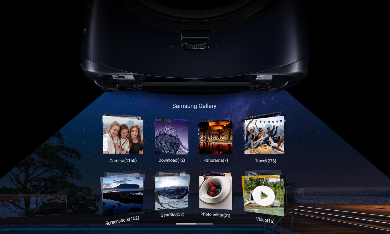 Samsung gear vr 2 optymalizacja zdjęc 360 i przeglądania internetu