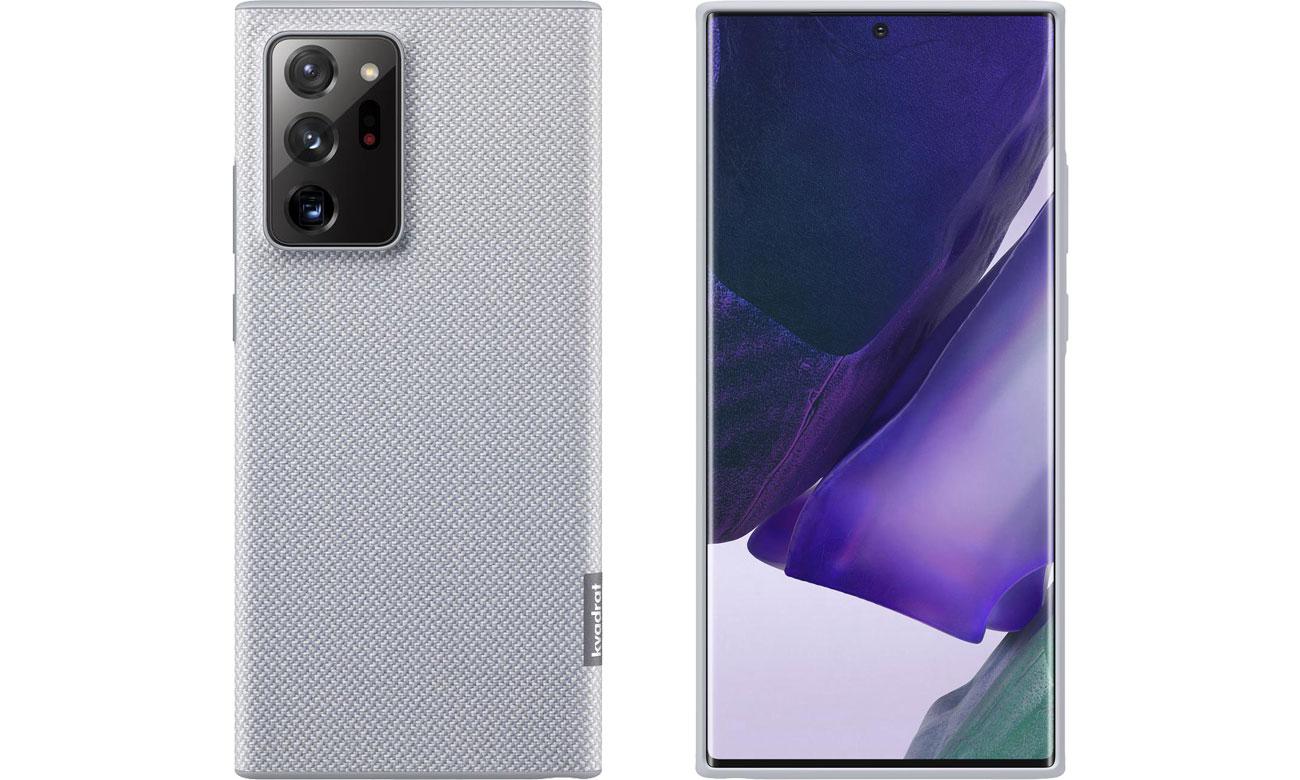 Etui Samsung Kvadrat Cover do Galaxy Note 20 Ultra Gray