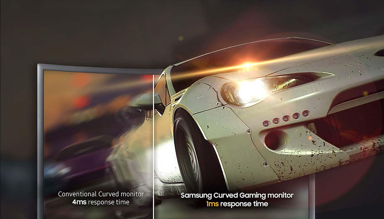 Samsung C27FG73FQUX Curved Czas Reakcji