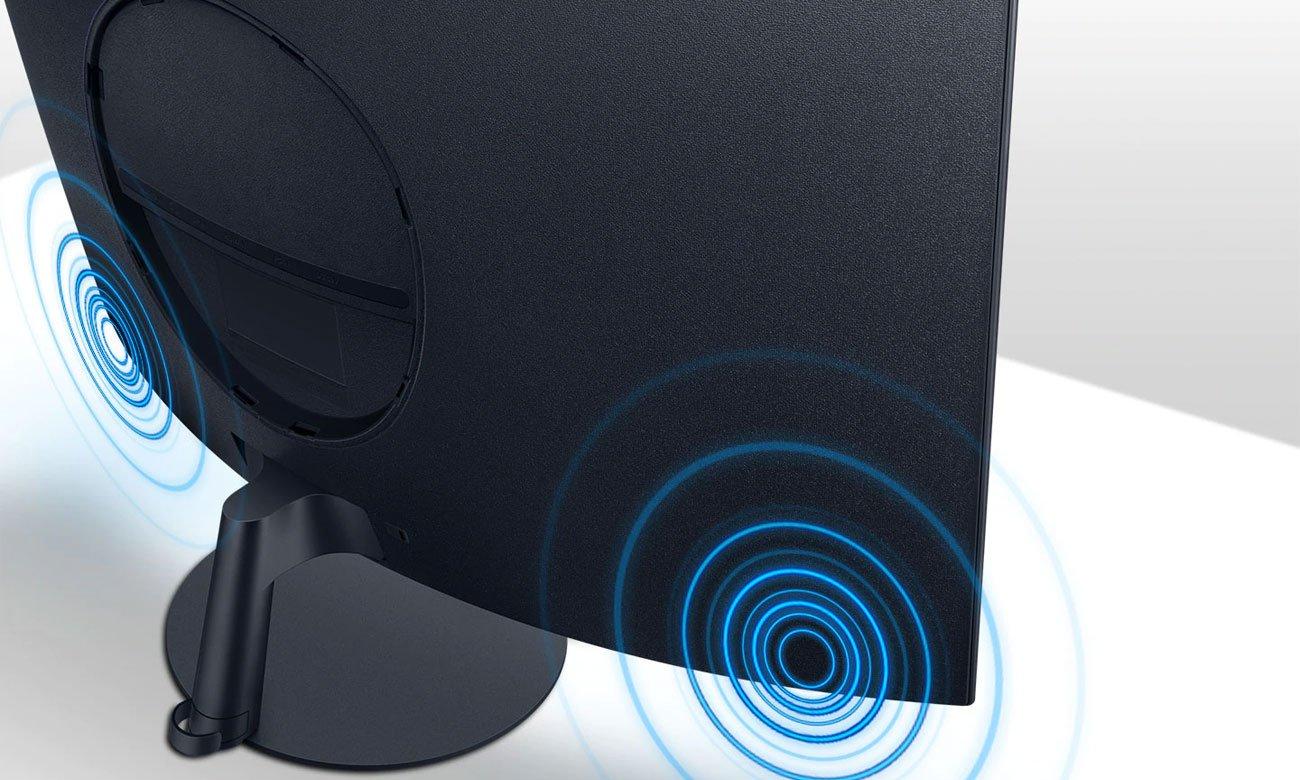 Monitor do domu i do biura Samsung C27T550FDUX Curved
