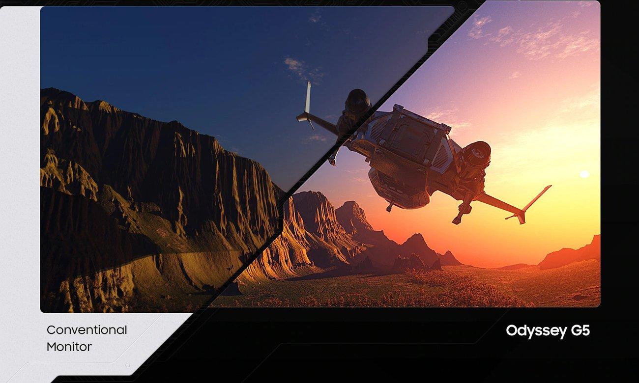 Monitor dla graczy Samsung Odyssey C32G55TQWUX