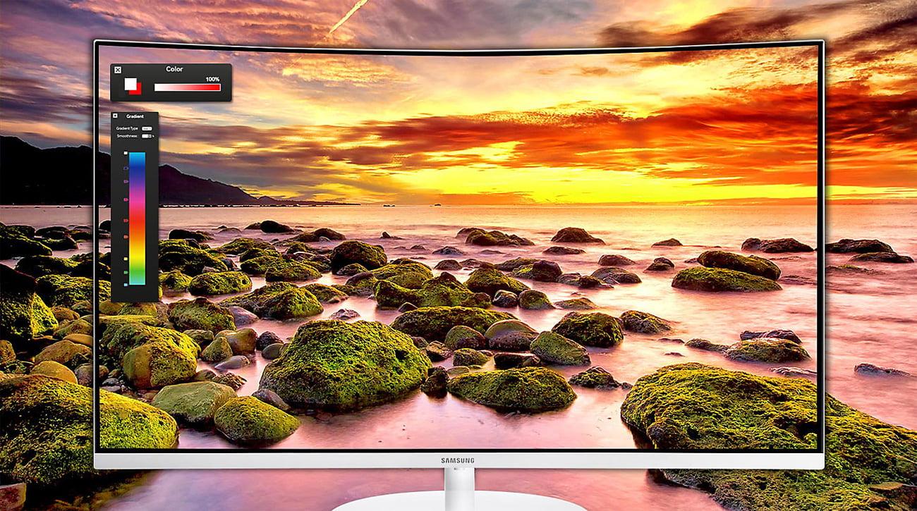 Samsung C32H711QEUX Curved Quantum Dot