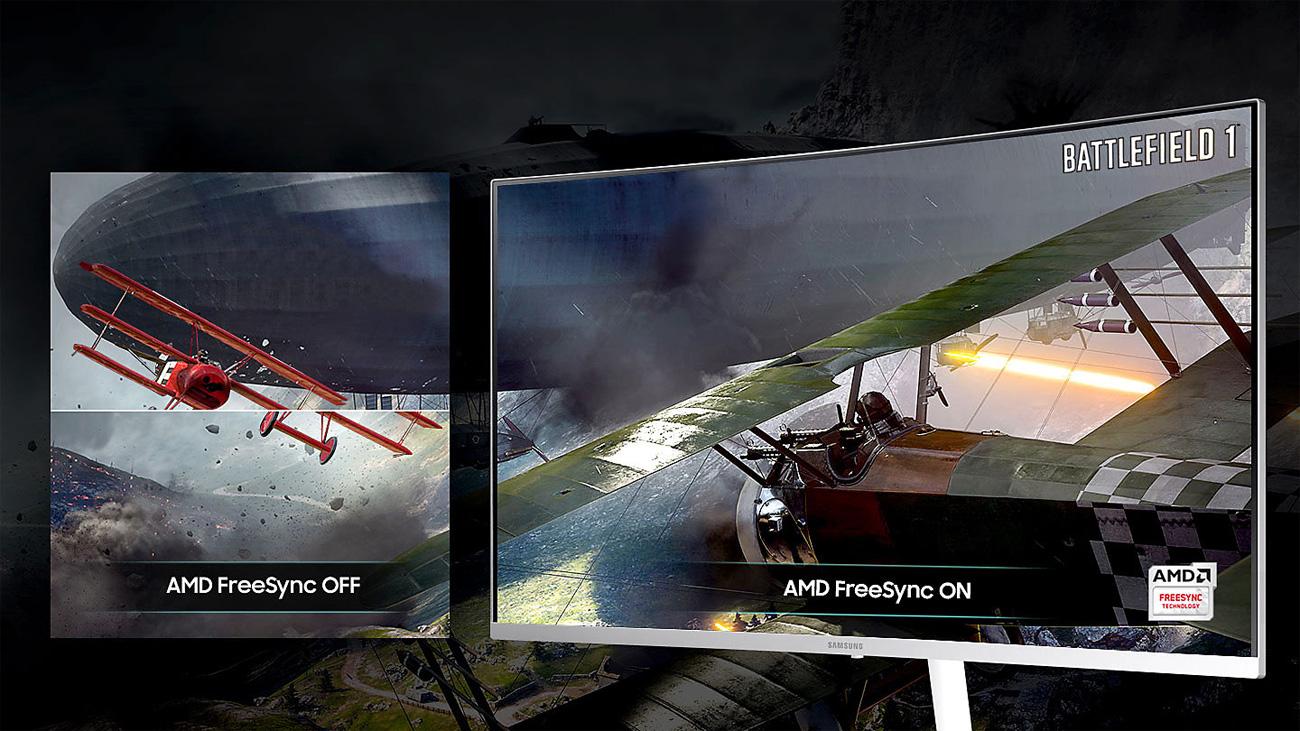 Samsung C32H711QEUX AMD Freesync