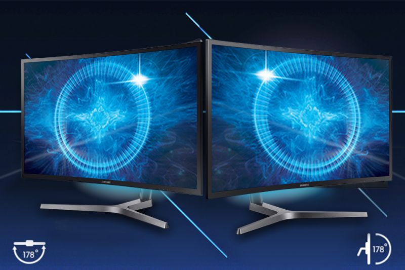 Samsung Super szeroki kąt widzenia 178°. Matryca VA