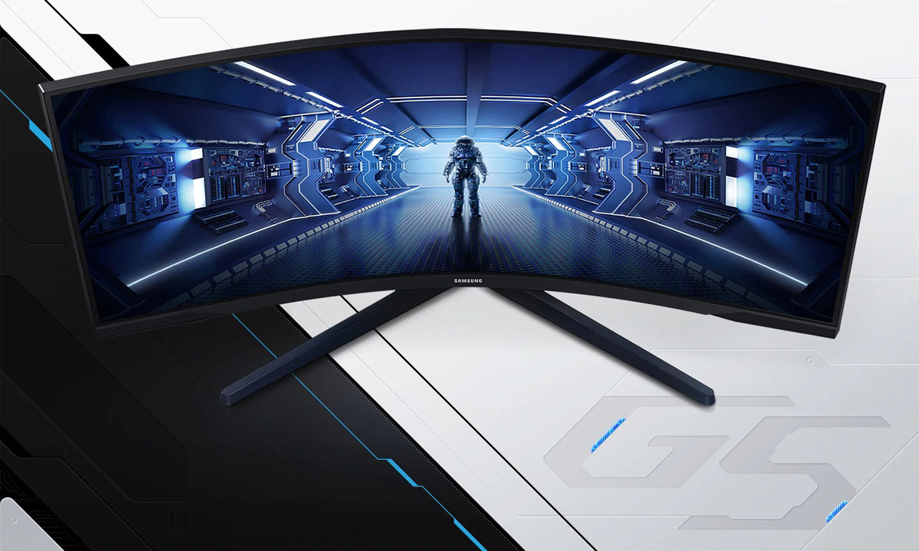 Monitor dla graczy Samsung Odyssey C34G55TWWRX