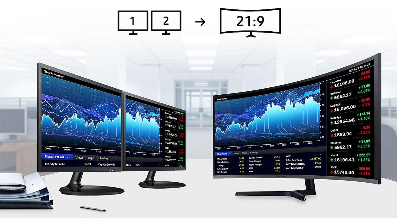 Samsung C34H890WJUX Format 21:9