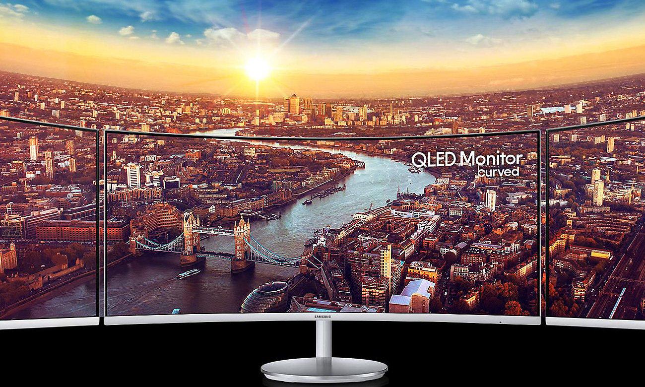 Zakrzywiony Monitor 34 Samsung