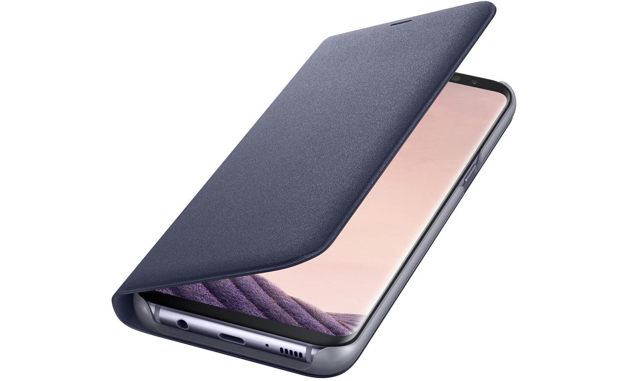 best wholesaler separation shoes new design Samsung LED View Cover do Galaxy S8 fioletowy - Etui i obudowy na smartfony  - Sklep komputerowy - x-kom.pl