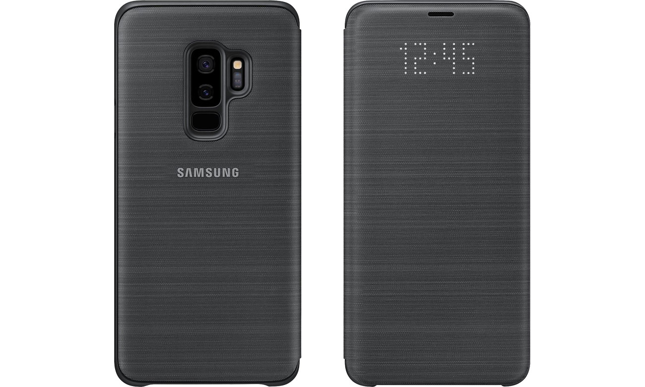 Etui LED View Cover do Galaxy S9+ Black EF-NG965PBEGWW