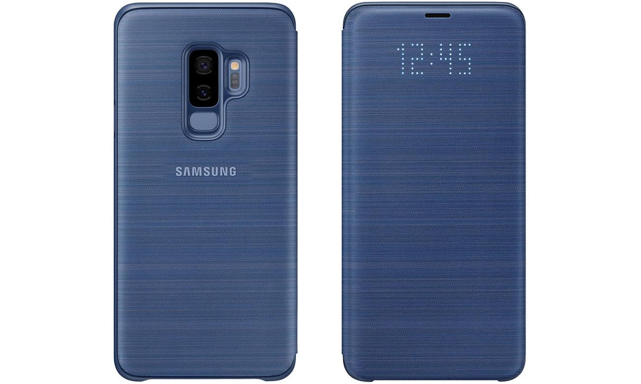 Etui LED View Cover do Galaxy S9+ Blue EF-NG965PLEGWW