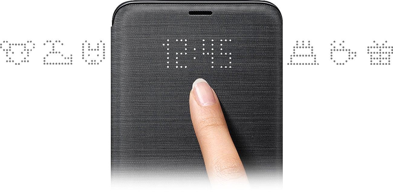 Samsung LED View Cover do Galaxy S9+ Wyświetlacz LED