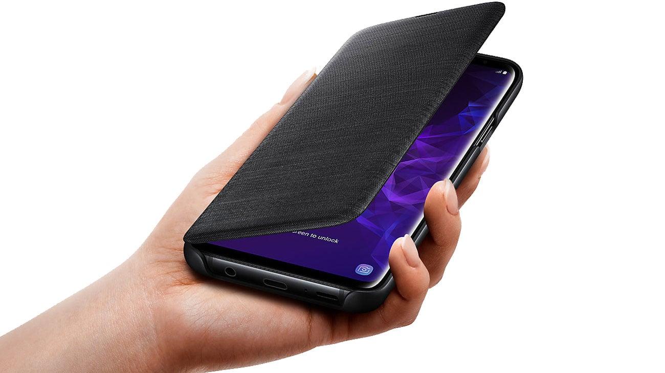 Samsung LED View Cover do Galaxy S9+ Jakość wykonania