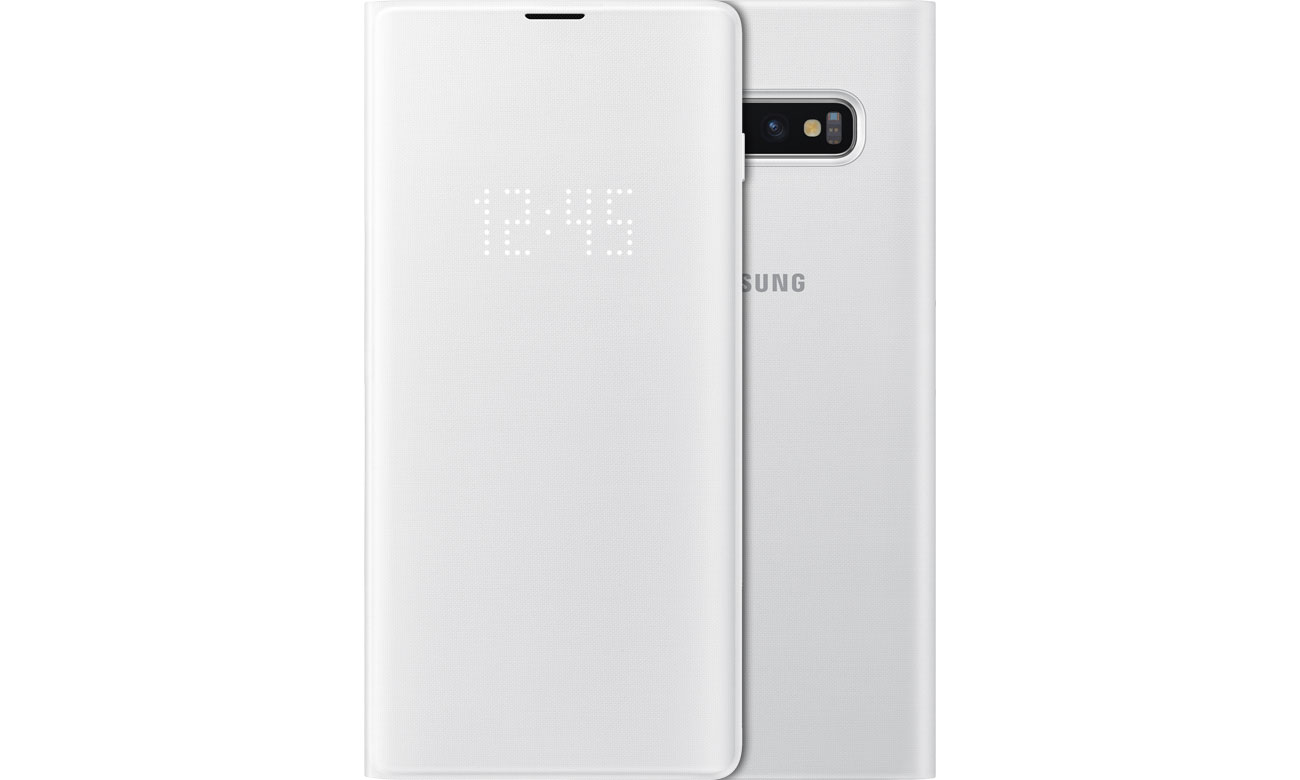 Samsung LED View Cover do Galaxy S10+ białe