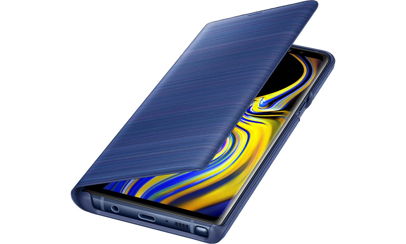Etui Samsung LED View Cover do Galaxy Note 9 Blue Niebieskie