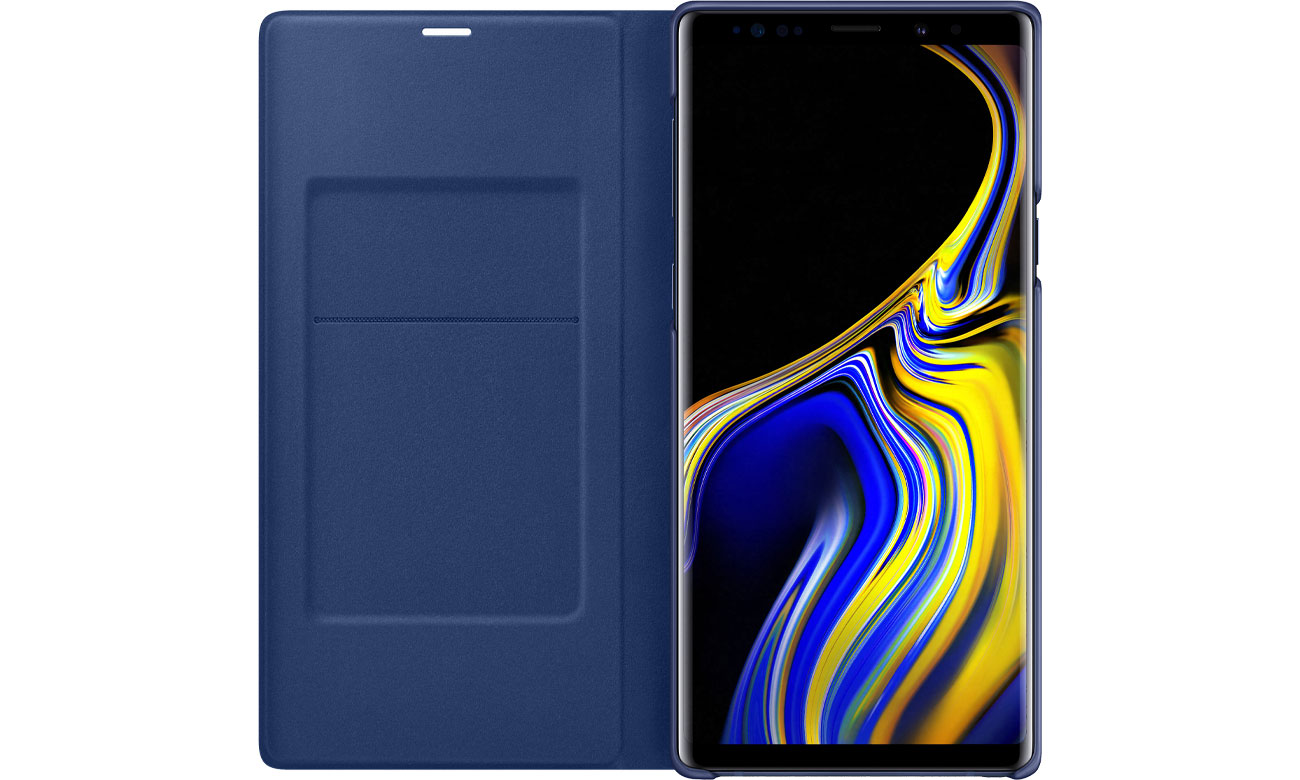 LED View Cover do Galaxy Note 9 Klapka z kieszonką na dokumenty