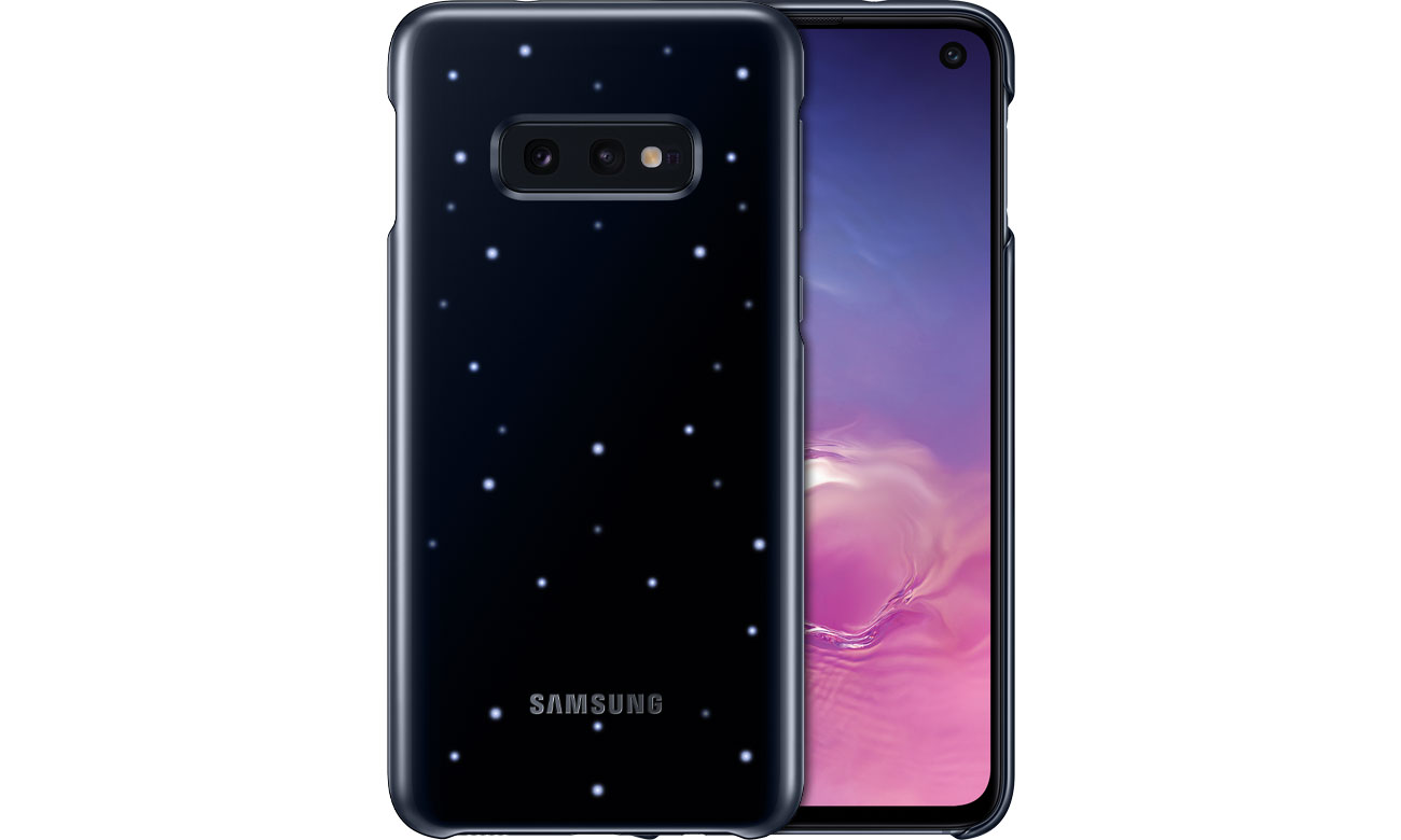 Etui Samsung LED Cover do Galaxy S10e czarne
