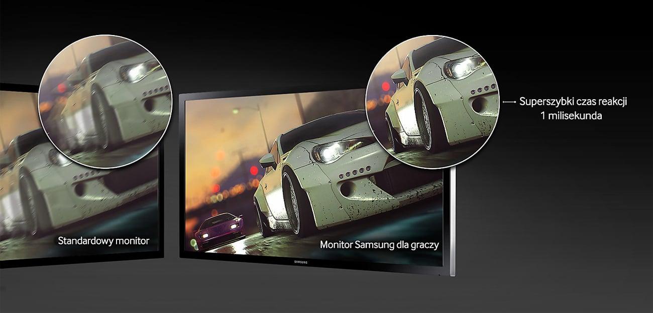 Samsung S27E330HZX Czas reakcji 1ms