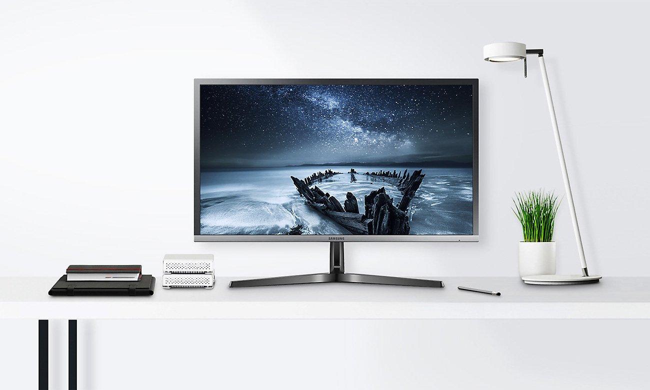 Samsung U28H750UQUX Curved Quantum Dot 4K