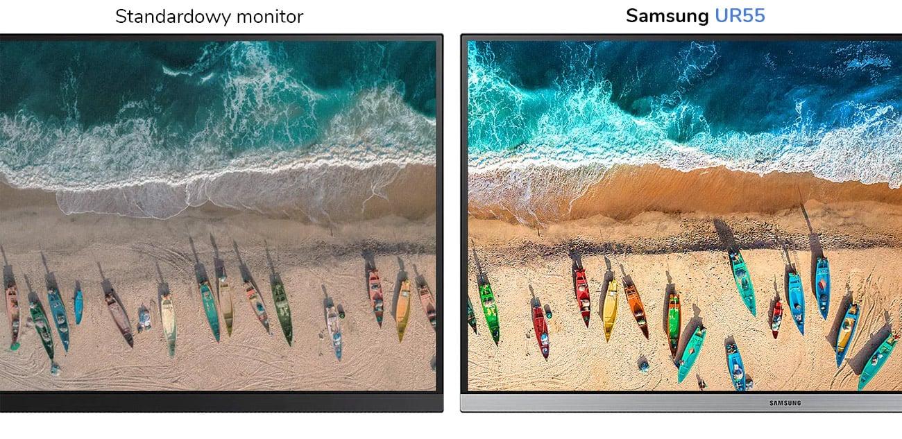 Monitor biznesowy Samsung U28R550UQUX 4K HDR