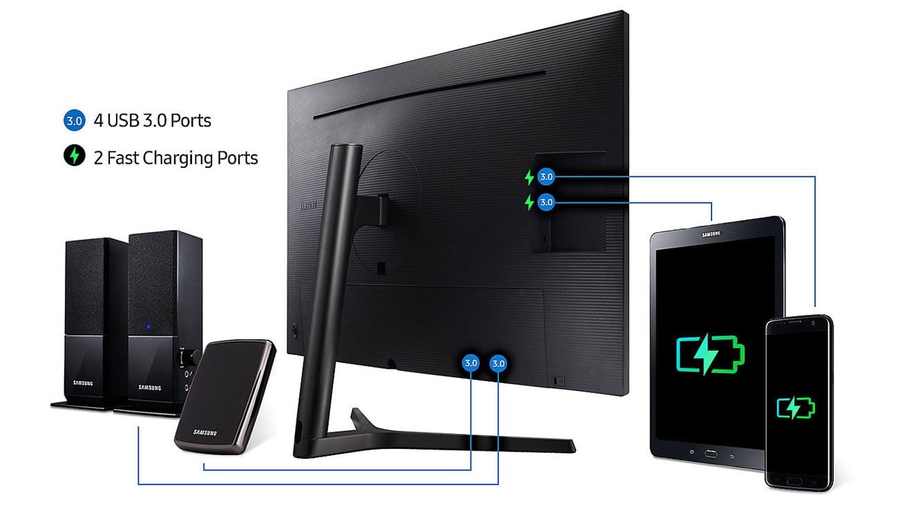 Samsung U32H850UMU USB