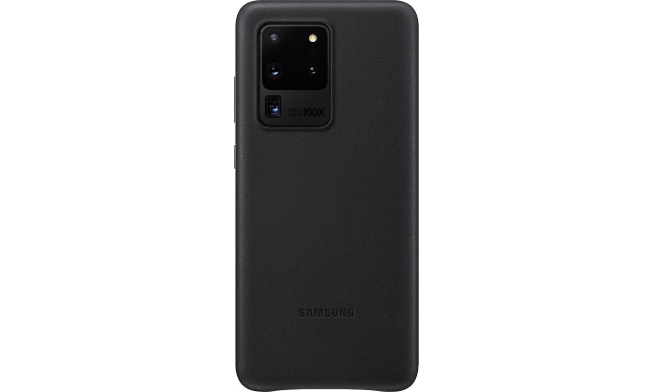 Samsung Leather Cover do Galaxy S20 Ultra Black EF-VG988LBEGEU