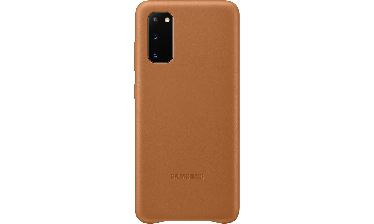 Samsung Leather Cover do Galaxy S20 Brown EF-VG980LAEGEU