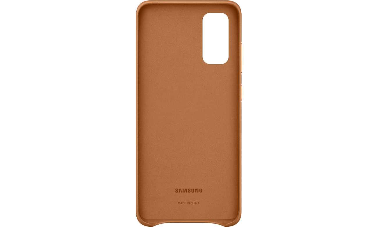 Samsung Leather Cover do Galaxy S20
