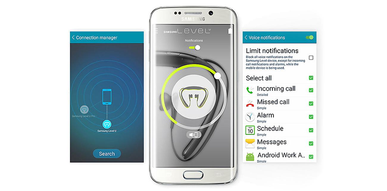 Aplikacja Samsung Level App