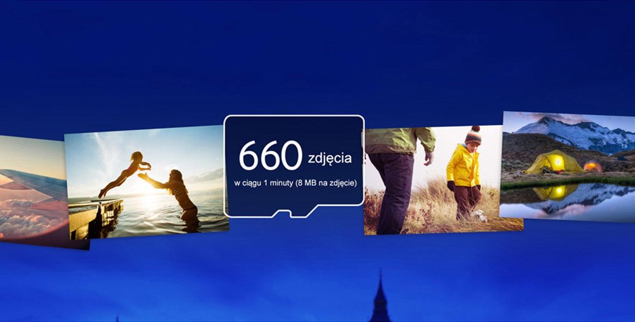 Samsung 32GB microSDHC Pro prędkość przesyłania