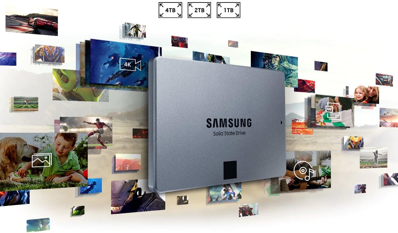 Dysk SSD Samsung 860 QVO
