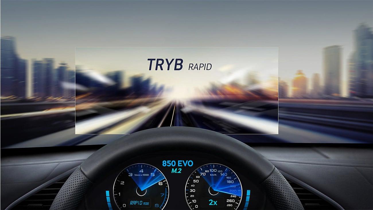 Samsung 1TB M.2 SSD Seria 850 EVO Tryb Rapid