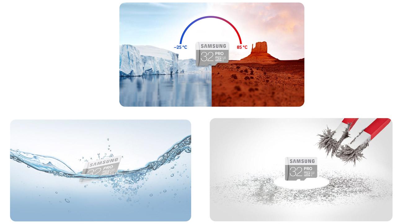 Samsung 32GB microSDHC Pro wysoka wytrzymałość