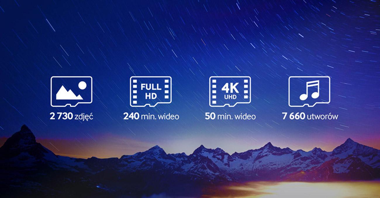 Samsung 32GB microSDHC Pro niezliczona ilosc danych
