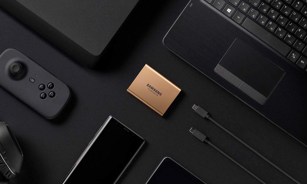 Samsung Portable T5 Kompatybilność