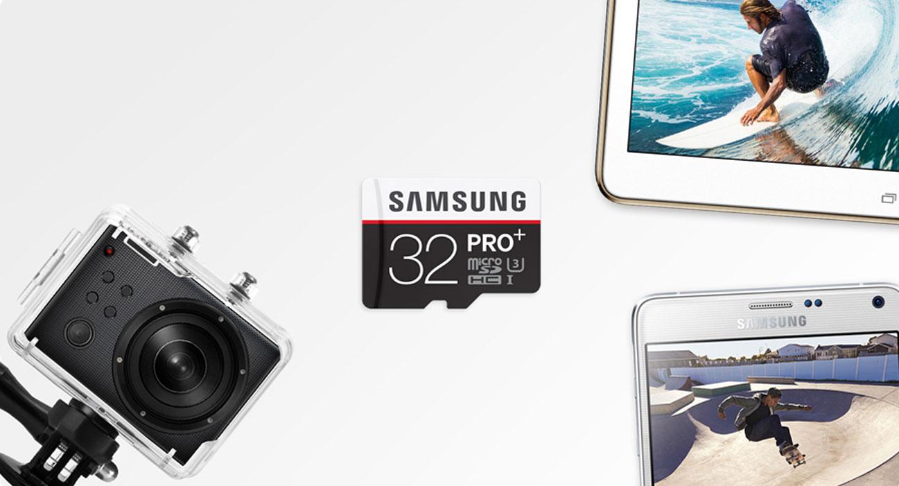 Samsung 32GB microSDHC Pro+ kompatybilność