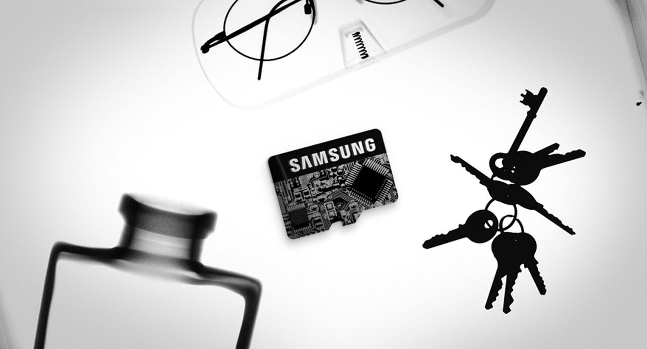 Samsung 32GB microSDHC Pro+ dorponośc na promieniowanie