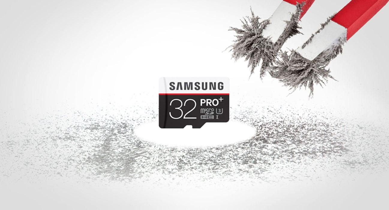 Samsung 32GB microSDHC Pro+ odporna na pole magnetyczne